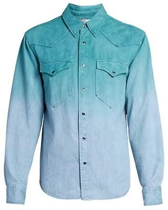 Isabel Marant Pittih Dip-Dyed Shirt