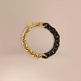Burberry Metal Chain Link Necklace