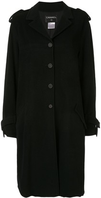 Chanel Pre Owned 2005 Long Sleeve Coat