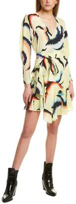 A.L.C. Enzo Silk-Blend Wrap Dress