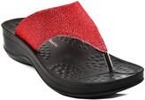 Aerothotic By Aerosoft Aerothotic by Aerosoft Women's Sandals Red - Red Jewel Platform Sandal - Women