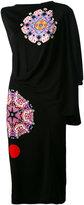 Givenchy draped asymmetric dress - women - Viscose - 40