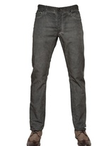 John Varvatos 19cm Cotton Linen Canvas Light Jeans