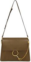 Chloé Khaki Medium Faye Bag