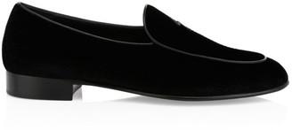 Giuseppe Zanotti Harry Velvet Loafers