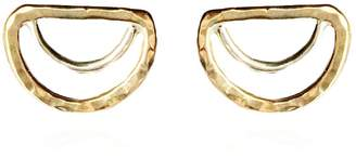 Sun & Selene Aella Arc Studs Greek Amazon Warrior