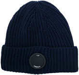 C.P. Company ribbed beanie - men - Wool - One Size