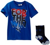 Puma For the Win Graphic Tee & Sock Set (Little Boys)