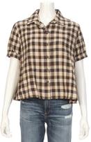 The Great Bias Short Sleeve Plaid Shirt