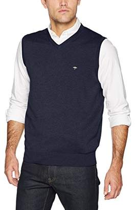 Fynch-Hatton Fynch Hatton Men's Slipover Vest Top,Medium