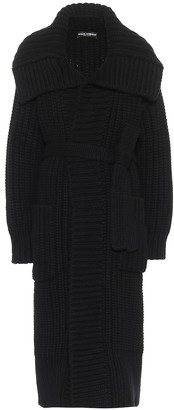Dolce & Gabbana Belted wool and cashmere coat
