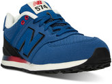 New Balance Boys' 574 Gradient Casual Sneakers from Finish Line