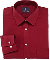 STAFFORD Stafford Travel Long-Sleeve Easy Care Broadcloth Dress Shirt
