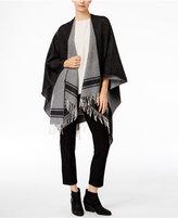 Eileen Fisher Wool-Blend Serape Poncho