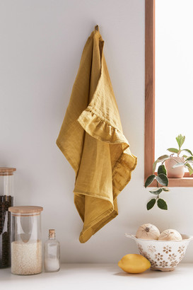 MagicLinen Ruffle Tea Towel
