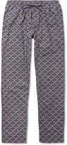 Zimmerli - Metropolitan Tropicals Printed Cotton-Poplin Pyjama Trousers