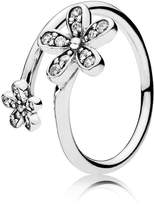 Pandora Ring 191038CZ-54 Woman Silver Zirconia