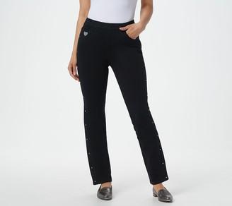 Factory Quacker DreamJeannes Straight Leg Pant with Bling Detail