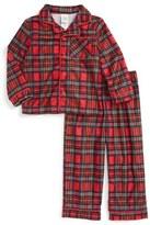 Little Me Plaid Two-Piece Pajamas (Baby Boys)