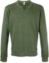 Cycle distressed detail sweatshirt - men - Cotton/Polyamide - S