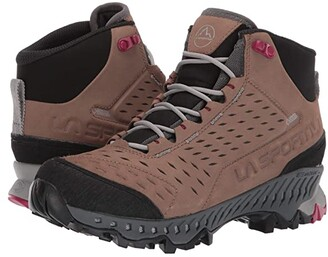La Sportiva Pyramid GTX (Taupe/Beet) Women's Shoes