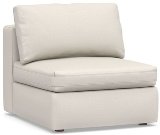Pottery Barn PB Air Square Upholstered Armless Chair