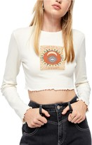 Urban Outfitters Bdg Present Future Baby Crop Graphic Tee