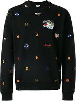 Kenzo multi icon sweatshirt - men - Cotton - S