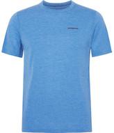 Patagonia Nine Trails Mélange Jersey T-shirt - Azure