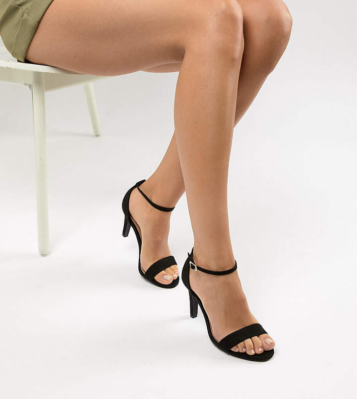 a057cfd65f9 Wide Fit 2-Part Heeled Sandal