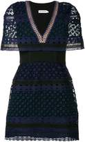 Self-Portrait crochet-lace mini dress