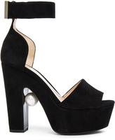 Nicholas Kirkwood 130mm Pearl Strap Heels