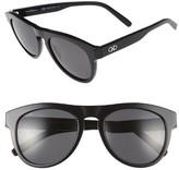 Salvatore Ferragamo Men's 54Mm Sunglasses - Black