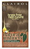 Clairol Natural Instincts, 6.5C Brass Free Lightest Brown, Semi-Permanent Hair Color, 1 Kit (Pack of 3)