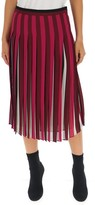 MICHAEL Michael Kors Pleated Midi Flared Skirt
