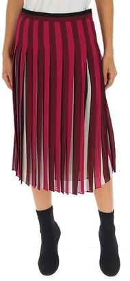 MICHAEL Michael Kors Pleated Midi Flared Skirt