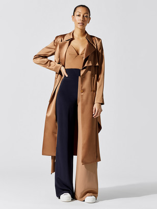 Cushnie Belted Trench Coat