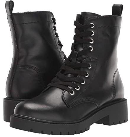 white combat boots steve madden