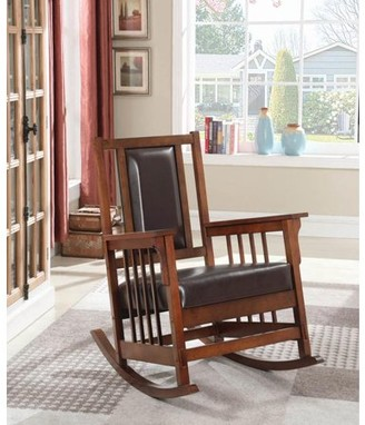 Coaster Company Traditional Tobacco Rocking Chair