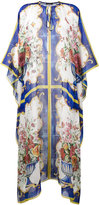 Dolce & Gabbana Majolica print silk blend kaftan