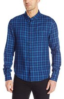 Joe's Jeans Men's Slim Fit Plaid Shirt