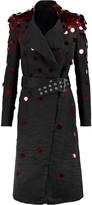 Gareth Pugh Paillette-embellished cotton-blend faille coat