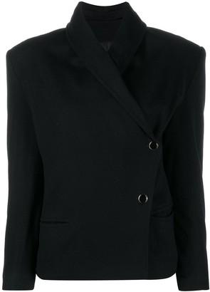 A.N.G.E.L.O. Vintage Cult 1980s Genny's off-centre buttoned jacket