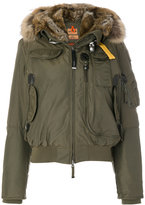 Parajumpers fur-lined bomber jacket