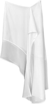Acne Studios White Silk Skirt for Women