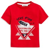 3 Pommes Infant Boys' Graphic Tee - Sizes 3-24 Months