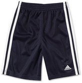 adidas Little Boys' Stripe Mesh Shorts