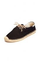Soludos Derby Lace Up Espadrille Flat