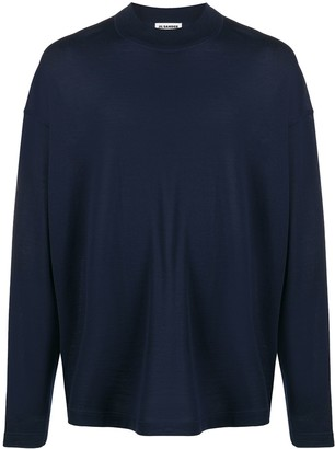 Jil Sander Oversized Crew-Neck Pullover