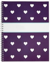 Pottery Barn Kids Notebook, Mackenzie Plum Glitter Heart